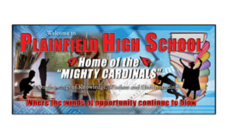 plainfield high school banner