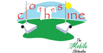 the mobile clothesline logo